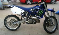$1,500 2000 Yamaha YZ250 Dirt Bike Runs good 1500 OBO