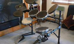 $1,500 Electronic Drum Set
