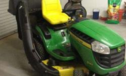 $1,500 John Deere D140 Mower with Bagger (Tuttle)