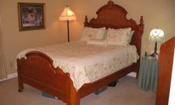 $1,500 Oak Bedroom Set - Lexington Victorian Sampler