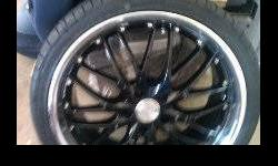 $1,500 Set of almost new MRR GT1 Wheels and Achilles ATR