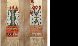 $1,500 Sioux Beaded and Quilled Pipebag