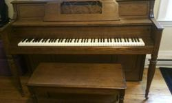 $1,500 Upright Console Piano