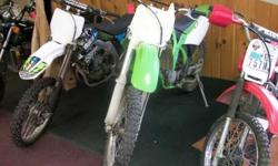$1,500 Used 2000 KX125 KX125 for sale.