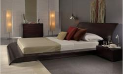 $1,515 Beautiful Modern Bedroom Set(King Size Bed - Dresser