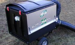$1,550 New Peco 5930 30 Cubic Foot Trailer Vac w/ 3.5 HP