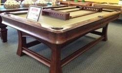 $1,595 8' Park Avenue Pool Table by Thomas Aaron