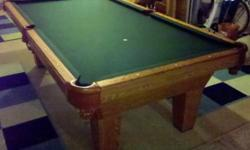 $1,595 8' Sheraton Pool Table by Olhausen