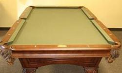 $1,650 8' Ambrosia Pool Table by Berringer Billiards
