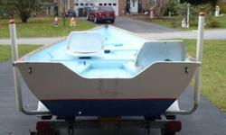 $1,750 16 Foot Skiff (Boat, Motor, Trailer) (North