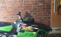 $1,750 1999 Arctic Cat ZR600 Carb (Marshall)