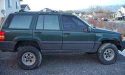 $1,800 1993 Jeep Grand Cherokee V8 Lifted