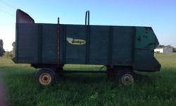 $1,800 2 Badger Silage wagons for sale