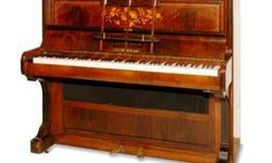 $1,800 antique English rosewood piano w/ digital