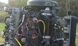 $1,800 Mercury V6 Outboard Engine