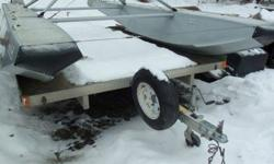 $1,850 2 Place Snowmachine Traler