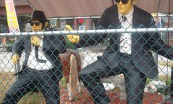 $1,895 Fiberglass Poly-Resin Blues Brothers Figures