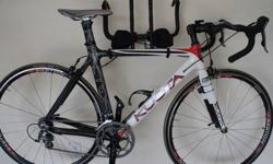$1,900 2011 Kuota K-Factor Road/Triathlon Bicycle + Extras
