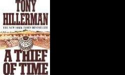 $1 A Thief of Time by Tony Hillerman