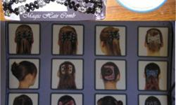 $1 Chinese hair comb, hair pins, bracelets, and decorations