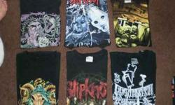 $1 T-Shirts/Band Shirts (Pre-Owned) Assorted