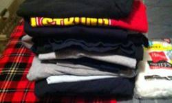 $1 Ton of mens clothings (blanchard)