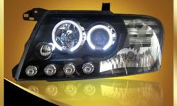 2000-2008 Mitsubishi Montero Pajero V73 Headlights with