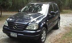 2000 Mercedes Benz ML430
