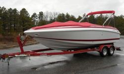 �2001 Cobalt 23 LS Mint Condition Only Fresh Water Boat�