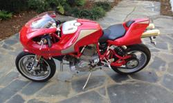 2001 Ducati MH 900e - ONLY 1,028 MILES