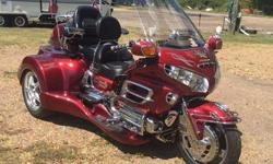 2001 Honda Gold Wing Road Smith Trike