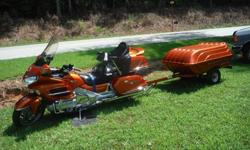 2002 Honda GoldWing GL1800-A2 (ABS) with Trailer