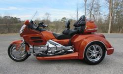 2002 Honda Goldwing GL1800 Trike Worldwide Shipping