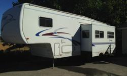 2002 Keystone RV Sprinter 282RLS 29.5' fifth wheel travel