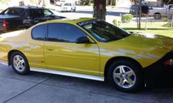 2002 Monte Carlo SS Limited Edition Pace Car
