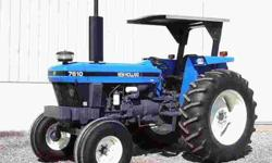 2002 New Holland 7610s
