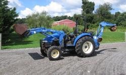 2002 New Holland Tc40d Tractor 4wd