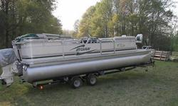 2002 Sylvan 24ELITE Pontoon
