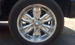 2003 Dodge Ram Rims+Tires for trade