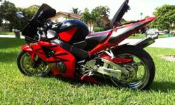 2003 Honda CBR 954 Worldwide Shipping