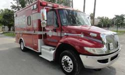 2003 International 4300 Durastar Fire Rescue Ambulance Type