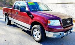 2004 Ford F-150 XLT 5.4 Triton Xtra Cab Pick-Up Truck