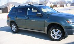 2004 Mitsubishi Outlander SUV - AWD - Great in Snow