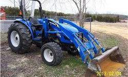 2004 New Holland Tc55da 4x4
