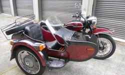 2004 Ural Troyka with Sidecar, Fully Loaded, Immaculate