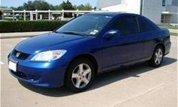 2005 Blue Honda Civic EX