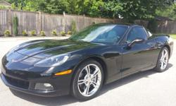 2005 Chevrolet Corvette 6 Speed Manual Black/Gray