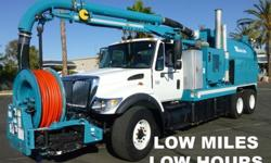 2005 International 7400 Vac-Con V312LHA Sewer Vac Truck