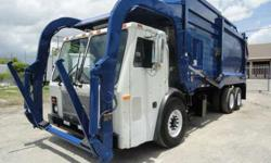 2005 Mack LE613 HEIL Front Loader 28 Yards Garbage Truck