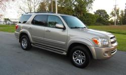 2005 Toyota Sequoia Limited 4wd DVD Navigation